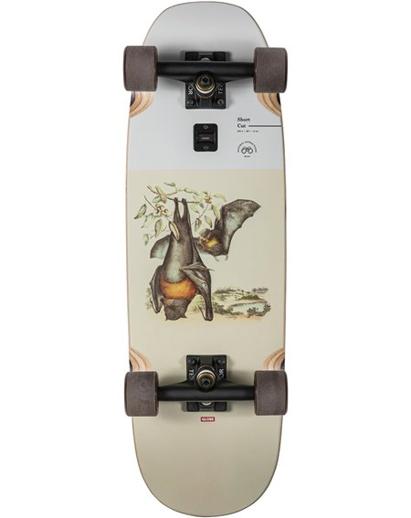 "Globe Short Cut 28"" Skateboard Cruiser Flying Foxes"