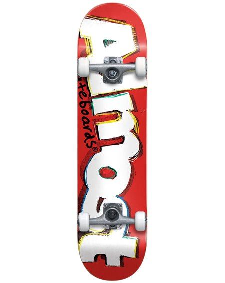 """Almost Neo Express 8"""" Complete Skateboard Red"""