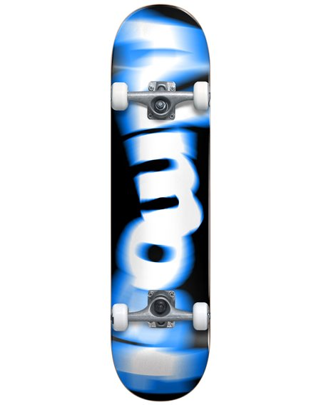 "Almost Spin Blur 7.625"" Complete Skateboard Blue"