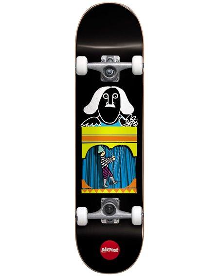 "Almost Puppet Master 8.125"" Komplett-Skateboard Black"