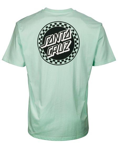 Santa Cruz Fast Times Dot Camiseta para Hombre Pool Blue