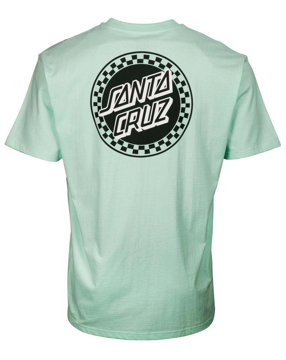 Santa Cruz Men's T-Shirt Fast Times Dot Pool Blue