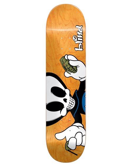 "Blind Plateaux Skateboard Papa Reaper Character 8.00"""
