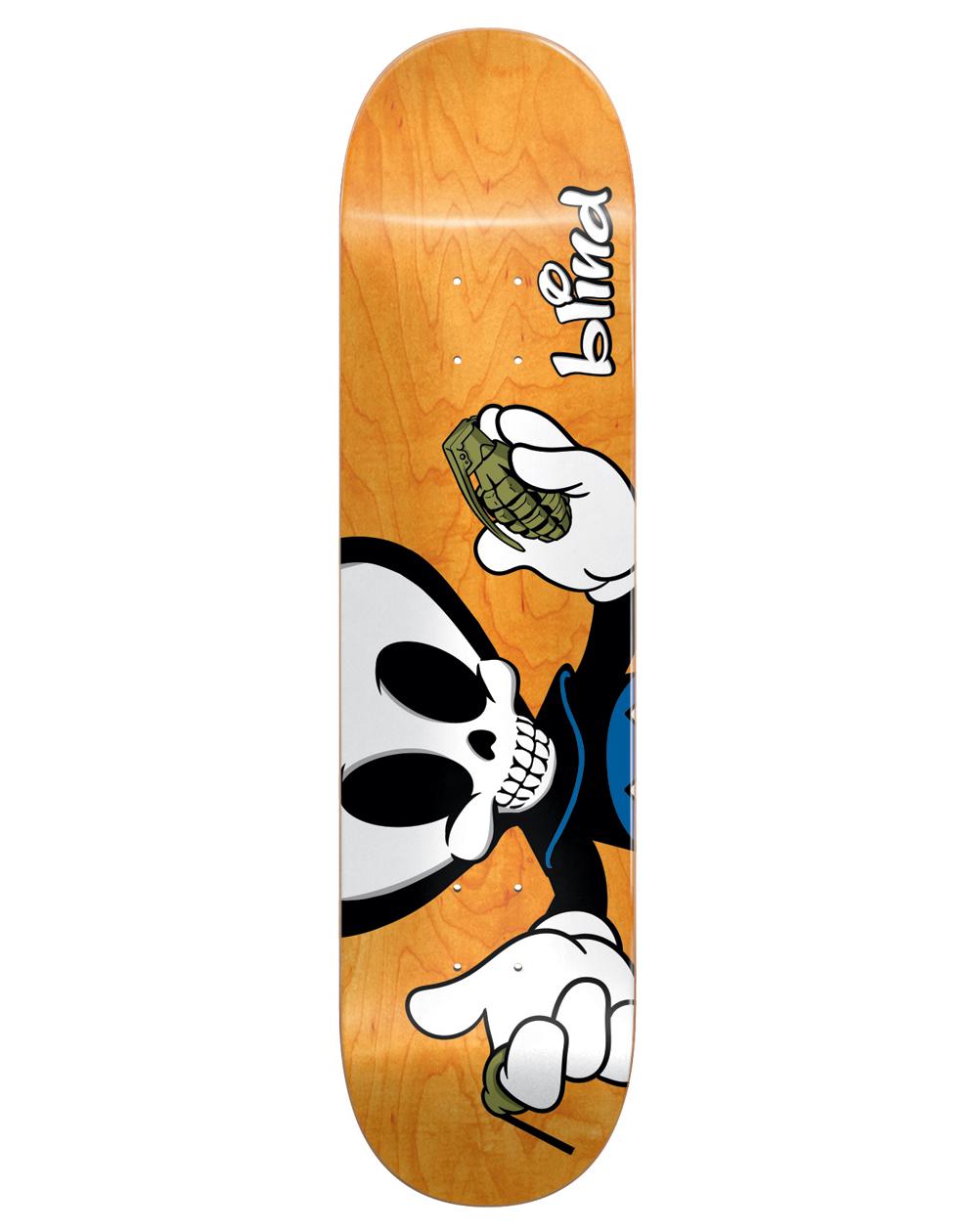 "Blind Tavola Skateboard Papa Reaper Character 8.00"""