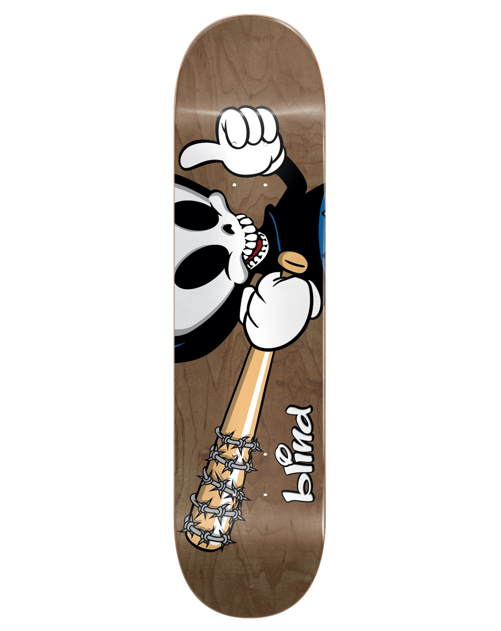 "Blind Tavola Skateboard McEntire Reaper Character 8.25"""