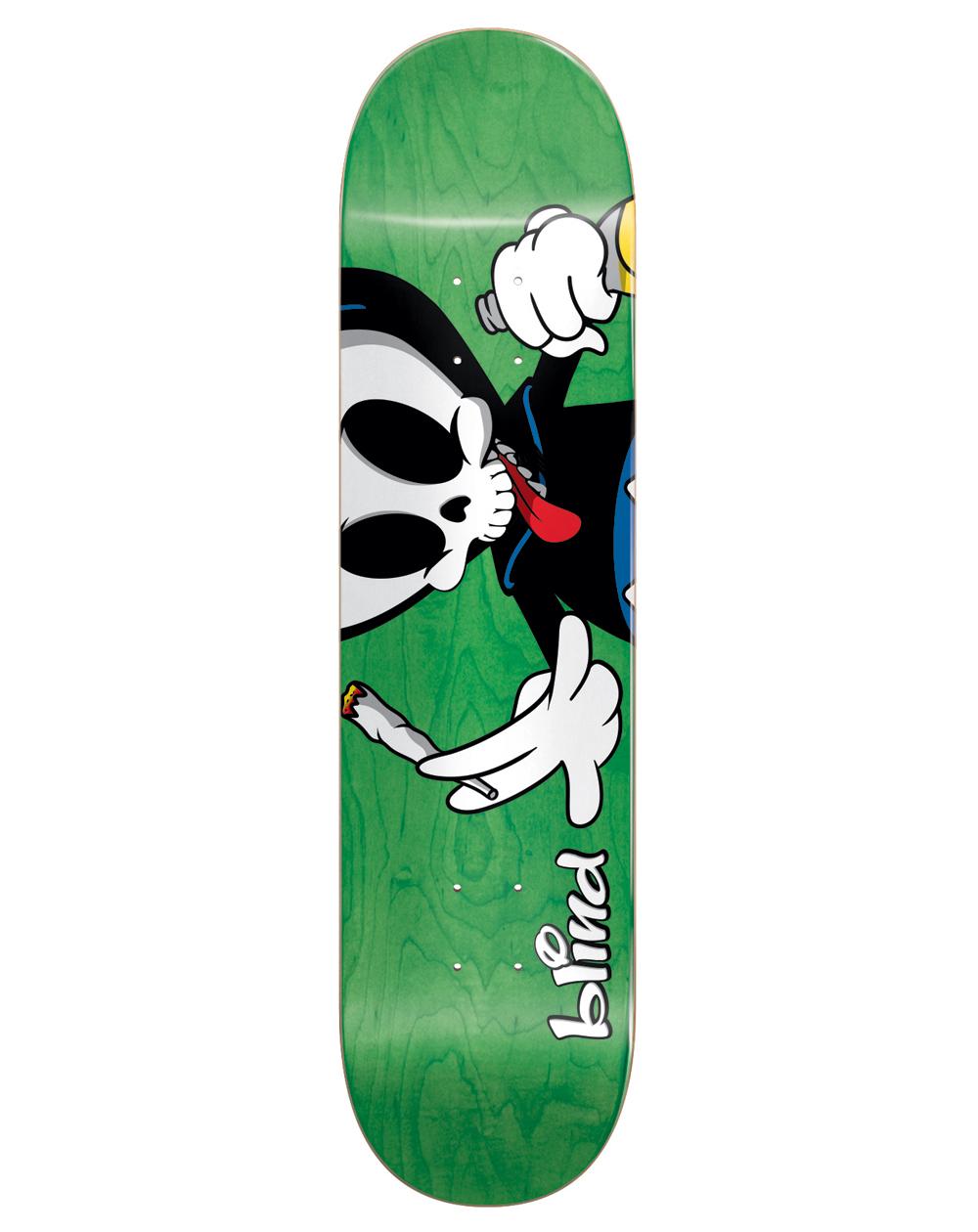 "Blind Tavola Skateboard Maxham Reaper Character 8.375"""