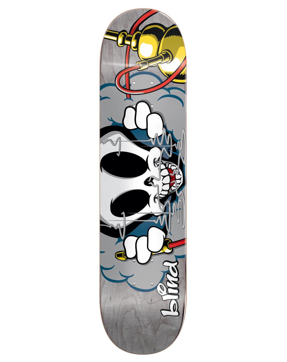 "Blind Tavola Skateboard Nassim Reaper Character 8.375"""