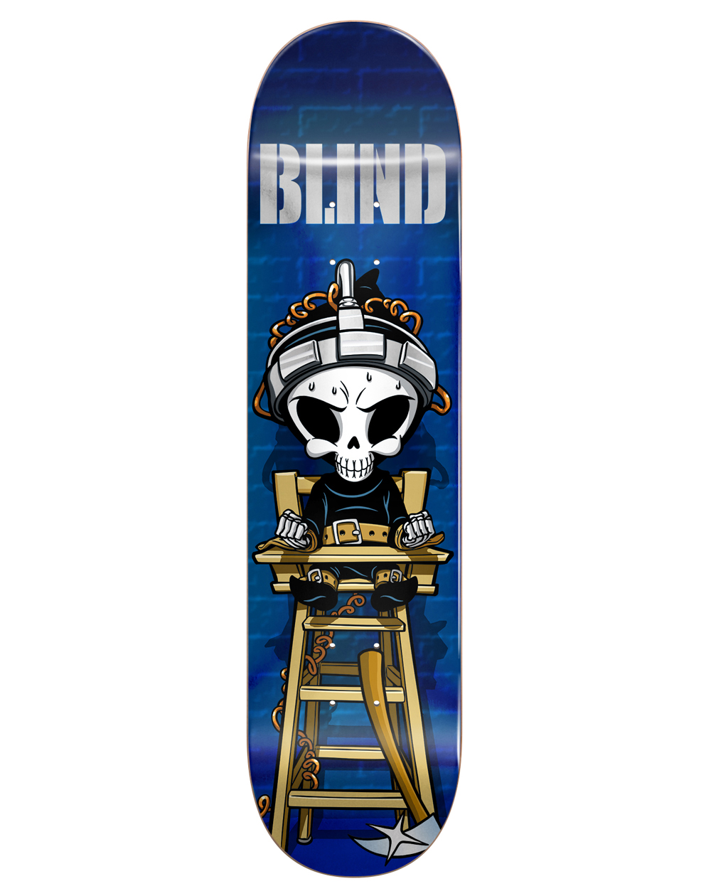 "Blind McEntire Chair Reaper 8.25"" Skateboard Deck"