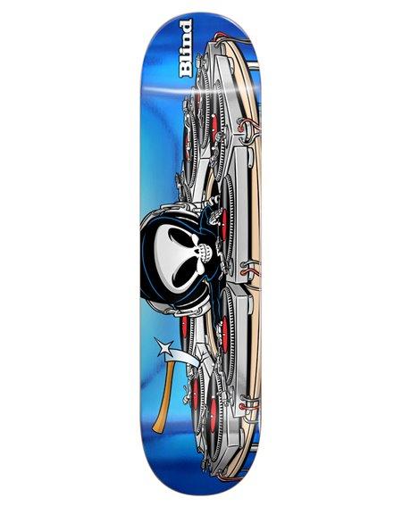 "Blind Tabla Skateboard Maxham Mixmaster Reaper 8.375"""