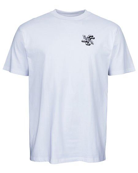 Santa Cruz Men's T-Shirt JJ Lupe White