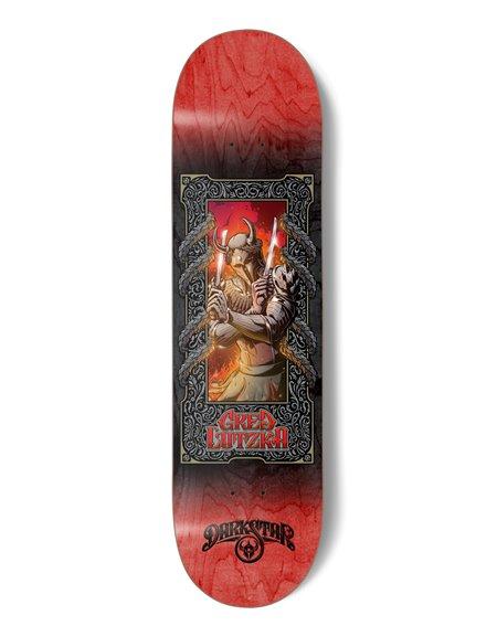 "Darkstar Plateaux Skateboard Anthology Lutzka 8.125"""