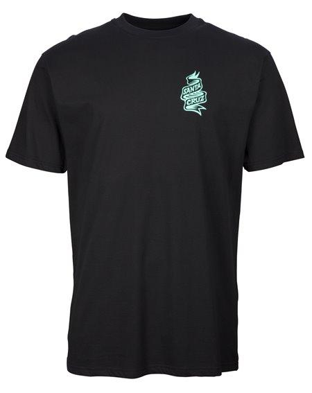 Santa Cruz Tattoo Hybrid Hand T-Shirt Uomo Black