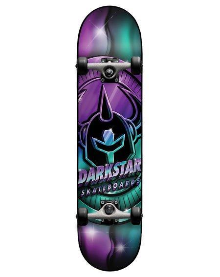 """Darkstar Skateboard Complète Anodize 8"""" Aqua/Purple"""