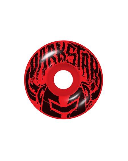 """Darkstar Skateboard Wordmark 8"""" Red/Blue"""