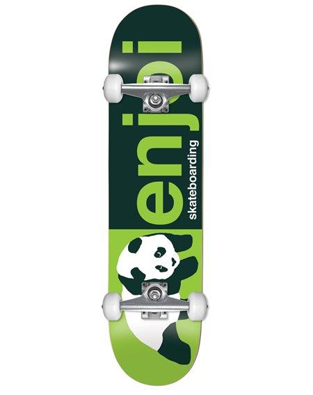 "Enjoi Skateboard Half and Half 8"" Green"