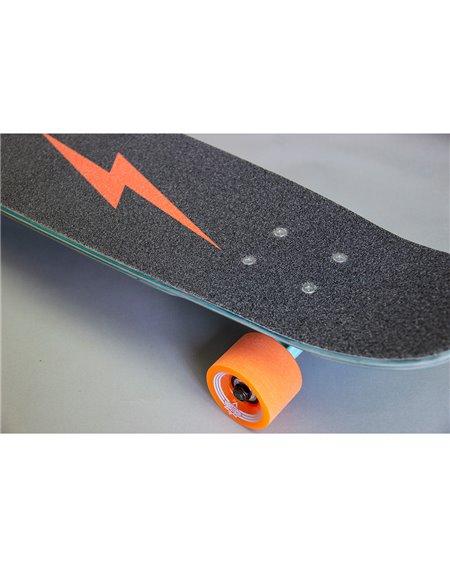 "Dusters Bird Bolt 25"" Skateboard Cruiser Teal"