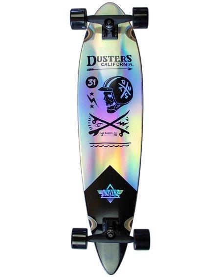 "Dusters Moto Cosmic 37"" Longboard Holographic"
