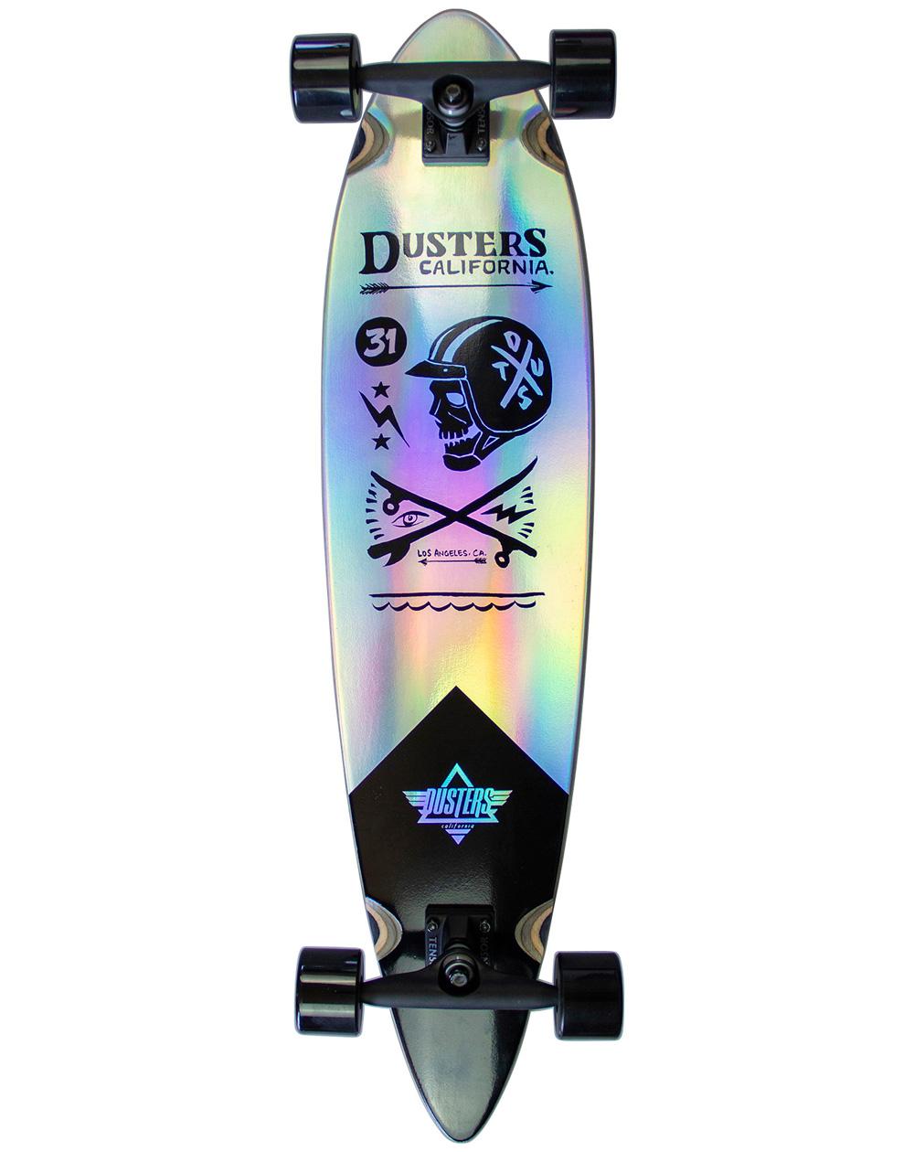 "Dusters Longboard Moto Cosmic 37"" Holographic"