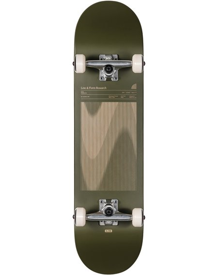 """Globe G1 Lineform 8"""" Complete Skateboard Olive"""