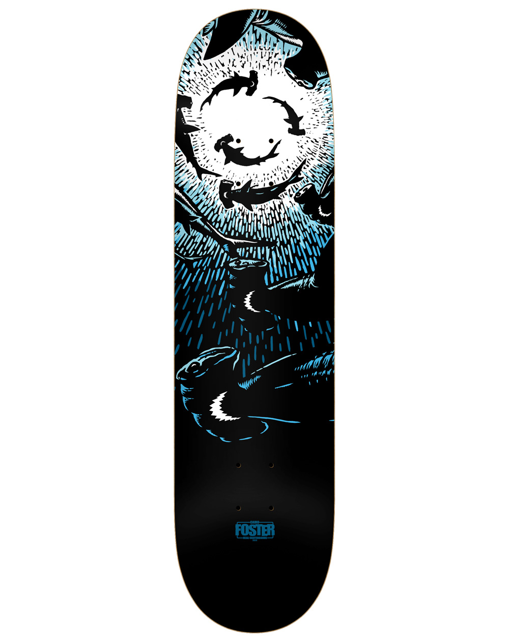 "Real Hammerhead Cairo 8.25"" Skateboard Deck"