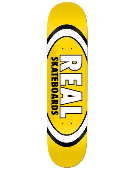 "Real Tavola Skateboard Team Classic Oval 8.06"" Yellow"
