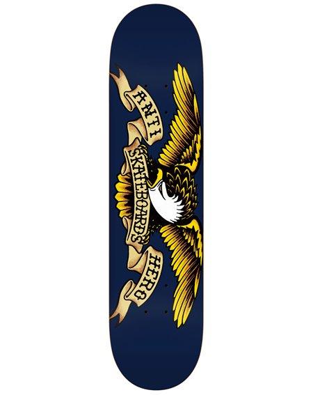 "Anti Hero Plateaux Skateboard Classic Eagle 8.5"" Navy"