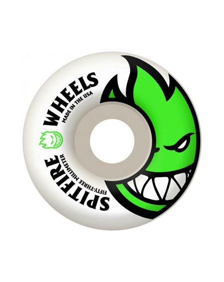 Spitfire Big Head Edition Classic 53mm 99A Skateboard Wheels pack of 4