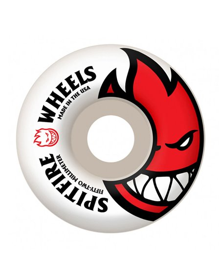 Spitfire Roues Skateboard Big Head Edition Classic 52mm 99A 4 pc