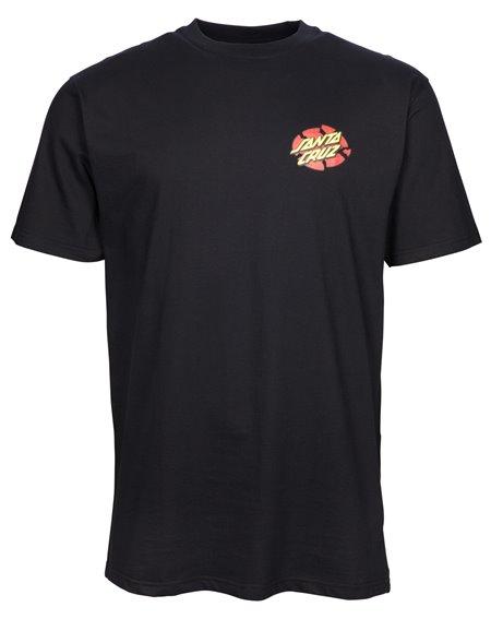 Santa Cruz Men's T-Shirt OGSC Broken Dot Black