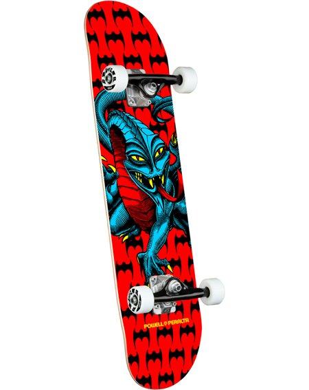 """Powell Peralta Skate Montado Cab Dragon 7.75"""" Red"""