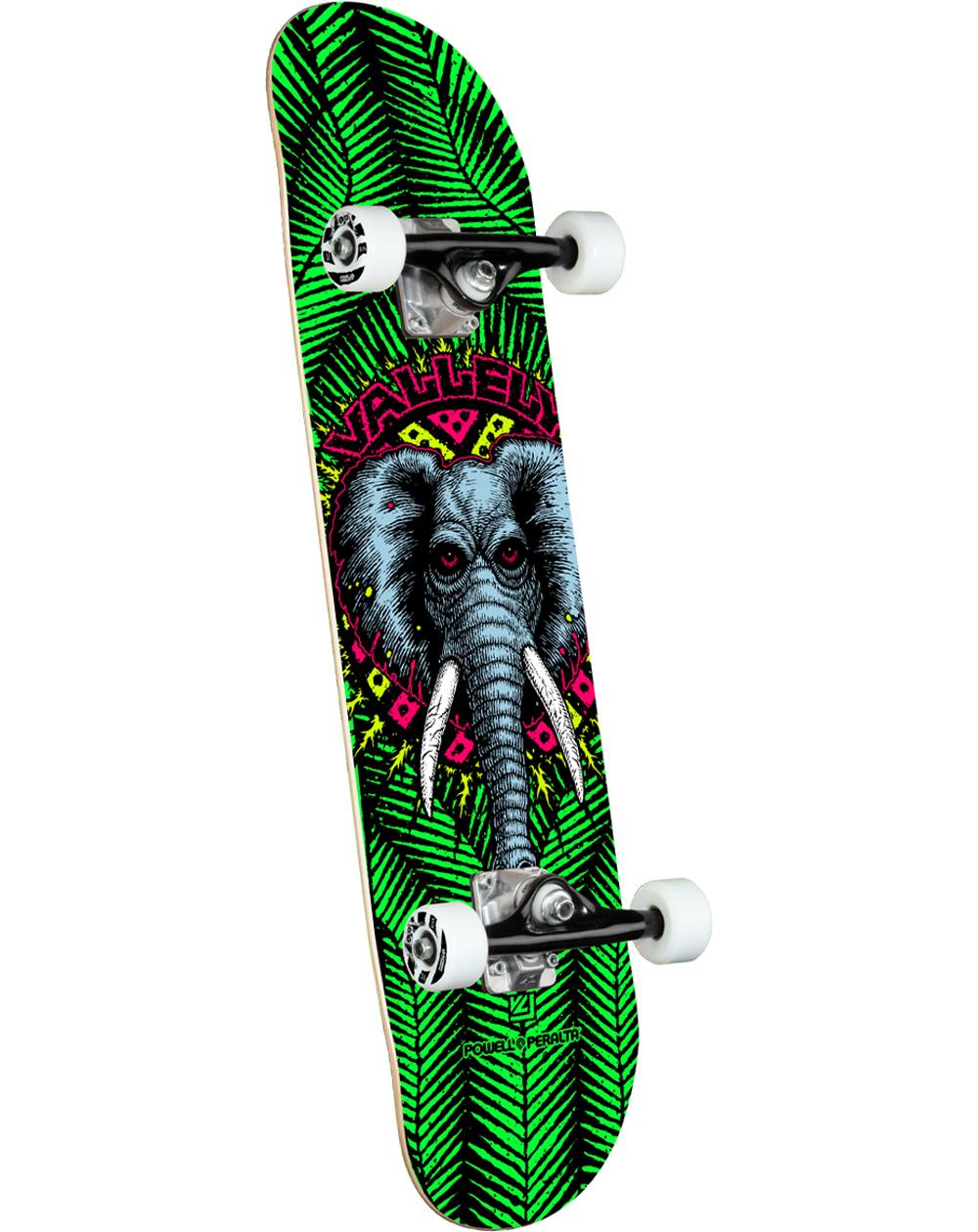 "Powell Peralta Skate Montado Vallely Elephant 8"" Green"