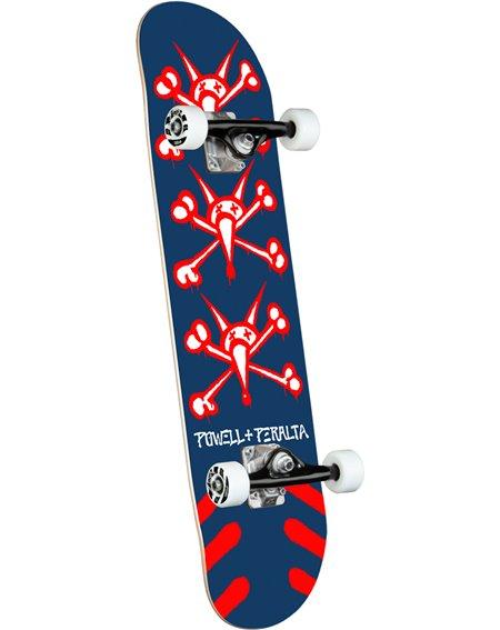 """Powell Peralta Skateboard Completo Vato Rats 8.25"""" Navy"""