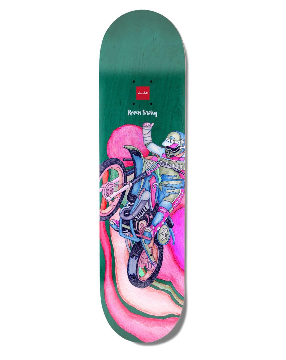 "Chocolate Psych Bike One-Off Tershy 8.25"" Skateboard Deck"