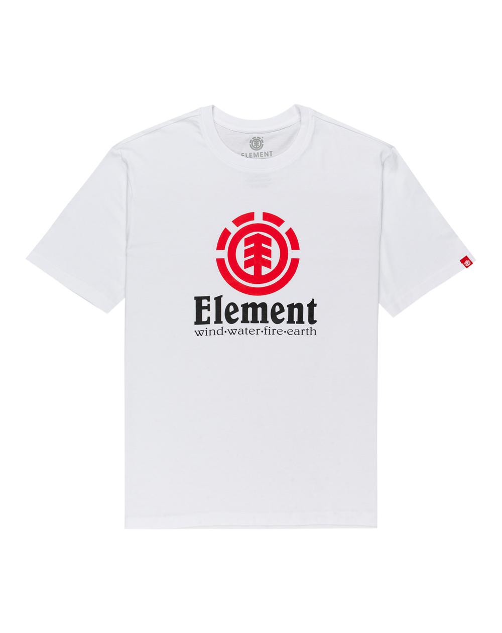 Element Men's T-Shirt Vertical Optic White