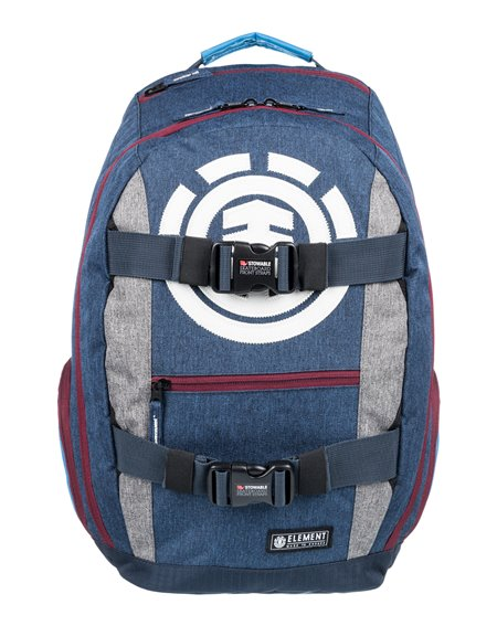 Element Sac à Dos pour Skateboard Mohave Navy Heather