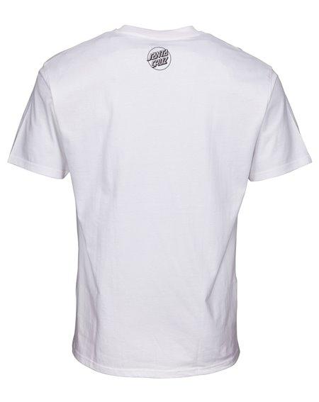 Santa Cruz Not a Crime T-Shirt Uomo White