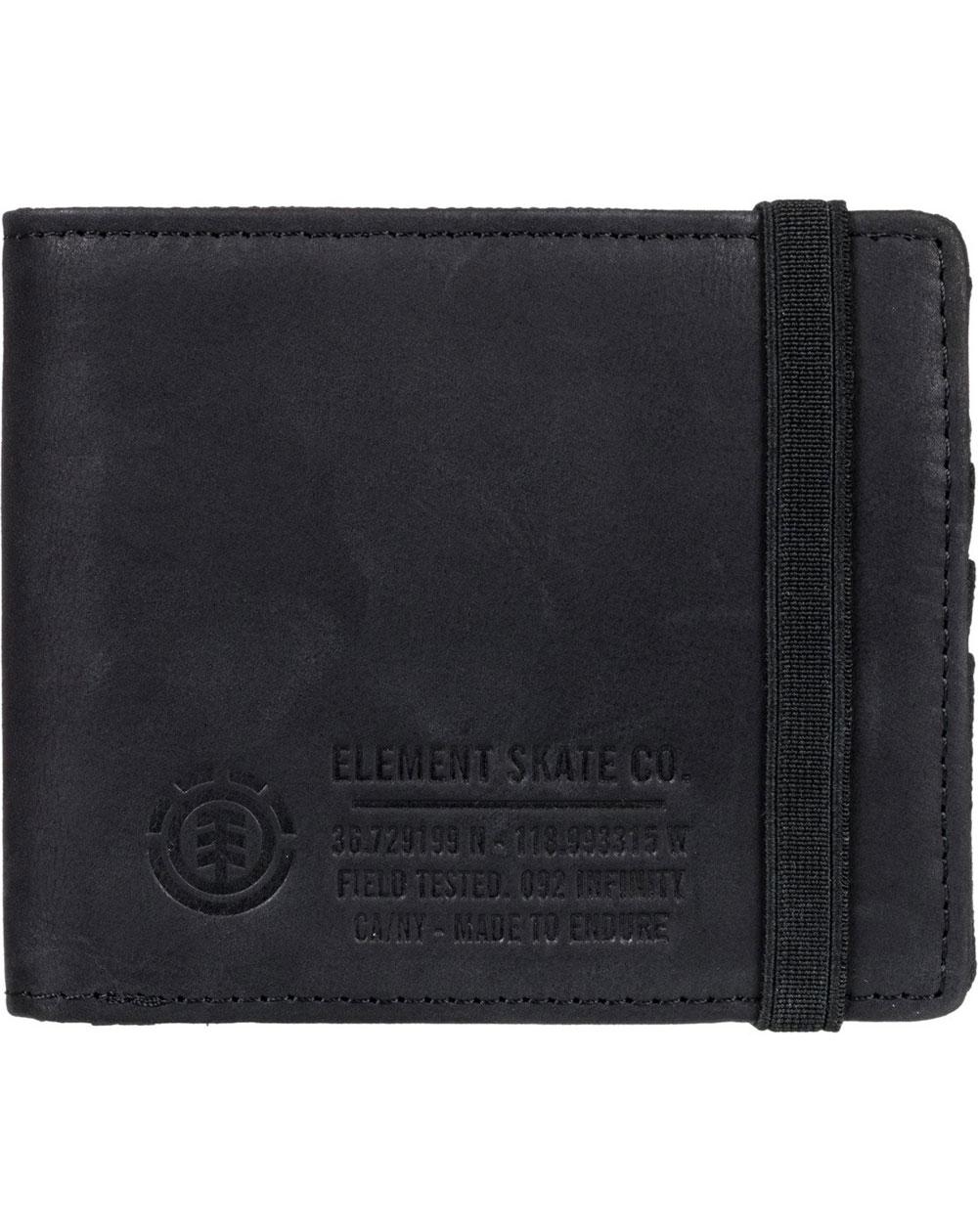 Element Portafogli Endure L. II Black