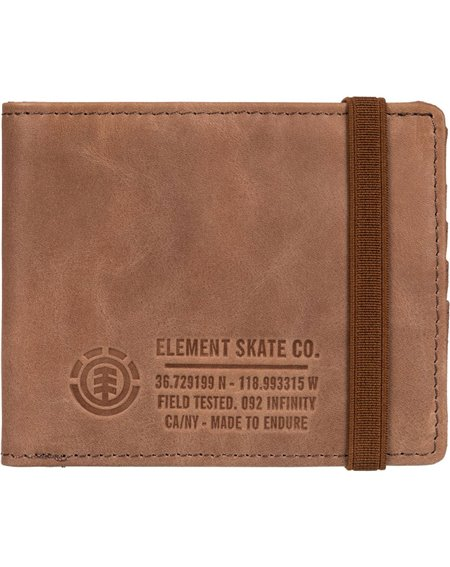 Element Portafogli Endure L. II Brown