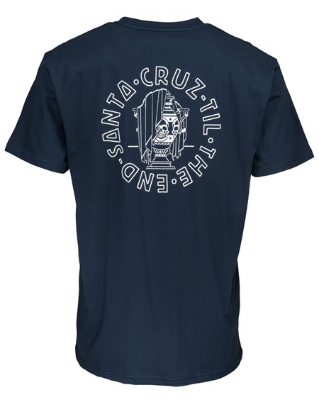 Santa Cruz Til The End Camiseta para Homem Indigo
