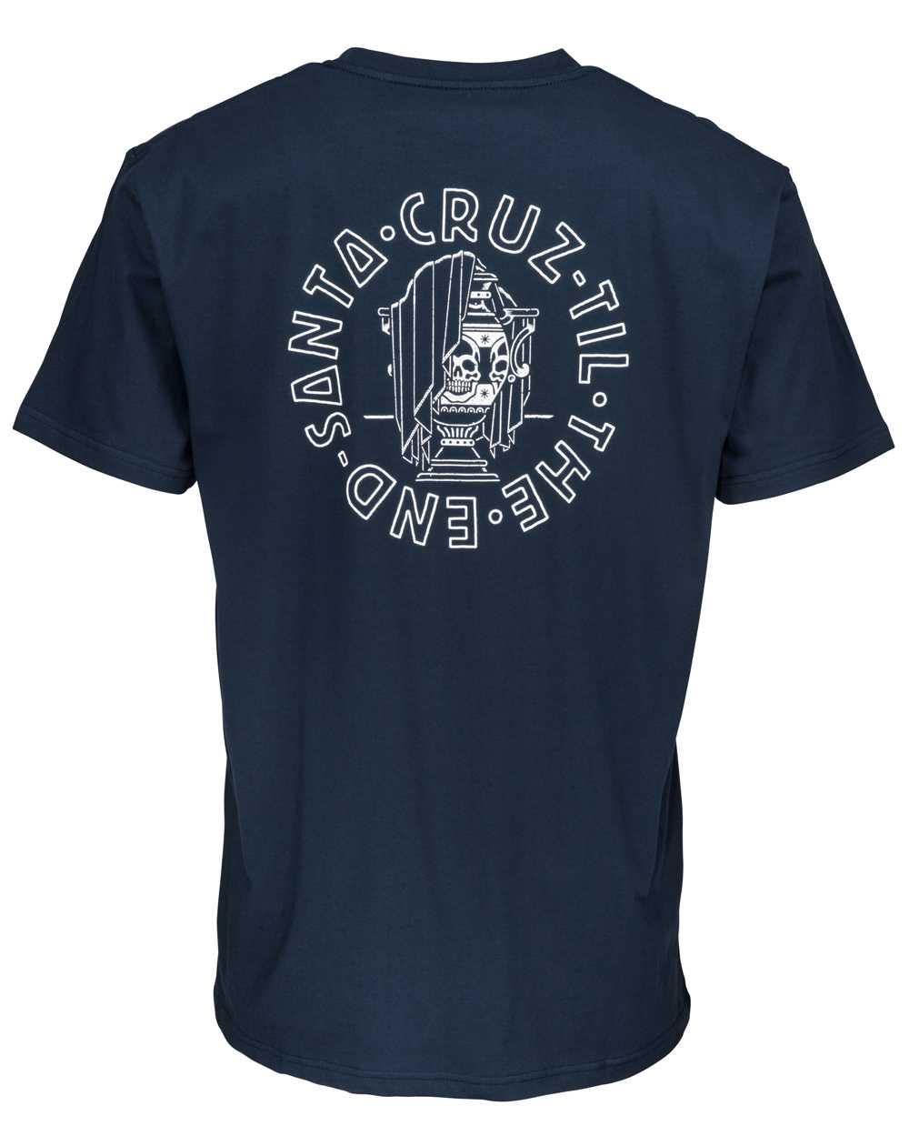 Santa Cruz Til The End T-Shirt Uomo Indigo