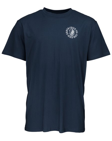 Santa Cruz Men's T-Shirt Til The End Indigo