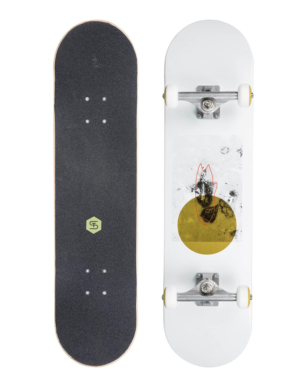 "ST Skateboard Complète Flying Fish 8"""