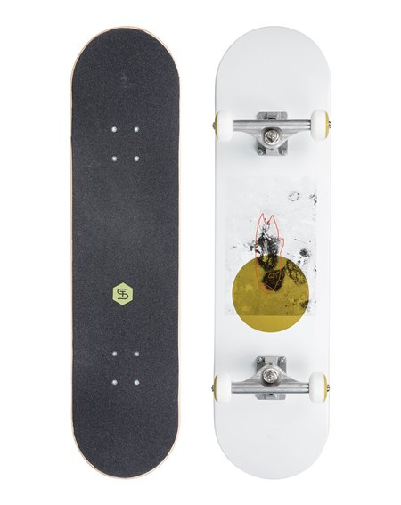 "ST Flying Fish 7.8"" Complete Skateboard"