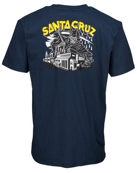 Santa Cruz Fate Factory Camiseta para Hombre Indigo