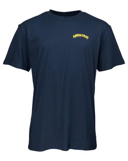 Santa Cruz Fate Factory T-Shirt Uomo Indigo