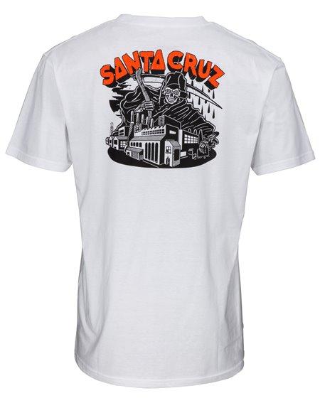 Santa Cruz Herren T-Shirt Fate Factory White