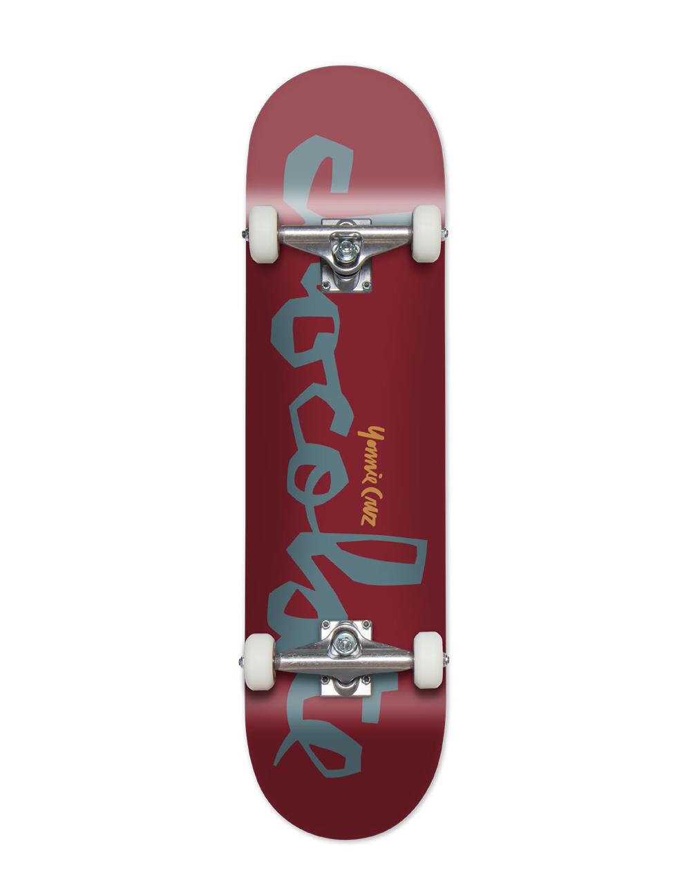 "Chocolate Skateboard Yonnie Cruz 8"" Red"