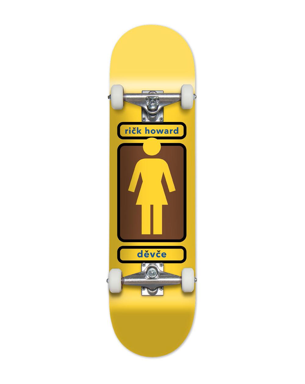 """Girl Howard 93 Til 7.75"""" Complete Skateboard"""