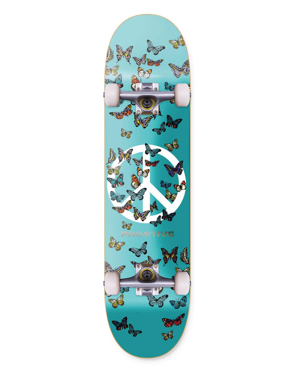 """Primitive Codes 7.75"""" Complete Skateboard"""