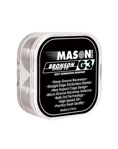 Bronson Speed Co. Roulements Skateboard G3 Pro Mason Silva
